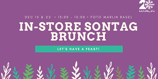 In-store Sontag Xmas Brunch