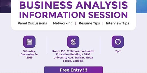 Business Analysis Information Session