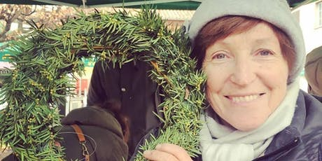 Al Mercato facciamo le coroncine natalizie con il floricoltore Gabriele! biglietti