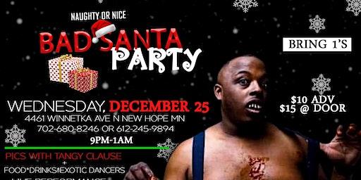 Naughty Or Nice Bad Santa Party