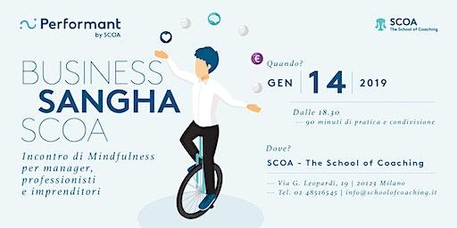 Business Sangha SCOA - Incontro di mindfulness per manager, professionisti