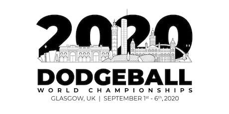 Dodgeball World Championships 2020 tickets