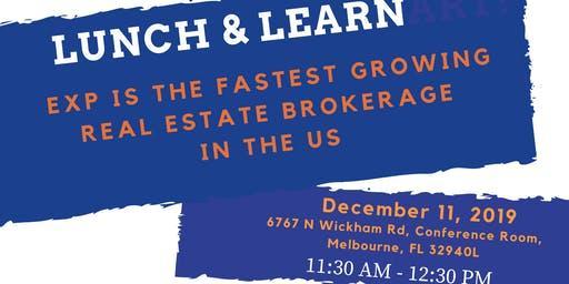 Lunch and Learn with Tropical Beachside - Wednesday Dec 11th
