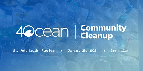 4ocean Community Cleanup tickets