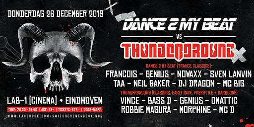 Dance2myBeat VS Thunderground