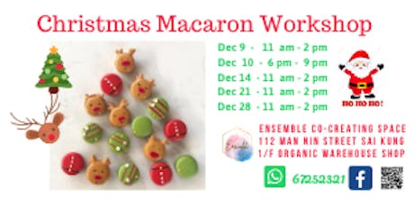 Christmas Macarons Workshop tickets