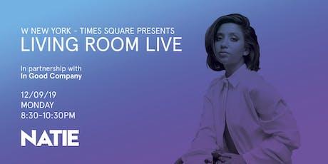 Natie / Living Room Live tickets