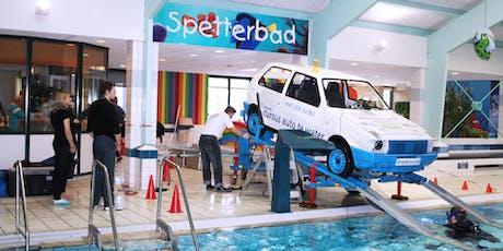 Kopie van Auto te water experience (11:30 - 13:30) tickets