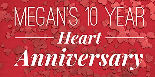 Megan's 10 Year Heart Transplant Anniversary