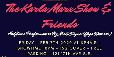 ESS Presents - The Karla Marx Show & Friends tickets