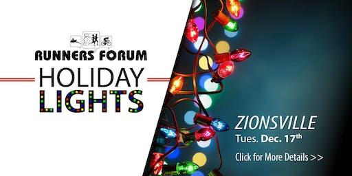 2019 Holiday Lights Fun Run - ZIONSVILLE