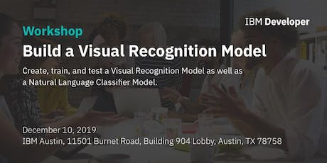 Build a Visual Recognition Model tickets