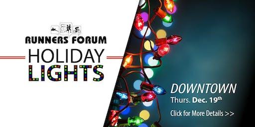 2019 Holiday Lights Fun Run - DOWNTOWN INDIANAPOLIS
