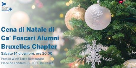 Cena di Natale di Ca' Foscari Alumni Bruxelles Chapter biglietti