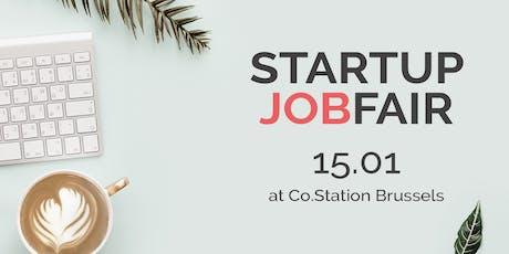 Startup Jobfair // January 2020 tickets