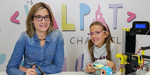 Valeria Corrales: Con 11 años ha revolucionado la educación tech en Youtube