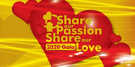 """Share Our Passion. Share Our Love."" -- a Fundraiser Gala by ERFSC tickets"