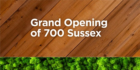 Grand Opening of 700 Sussex tickets