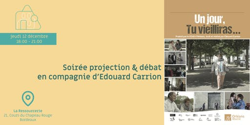 Soirée projection & débat en compagnie d'Edouard Carrion