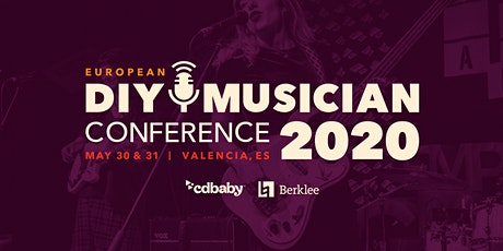 European DIY Musician Conference 2020  -   30 May + 31 May entradas