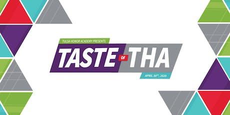 2020 Taste of THA tickets