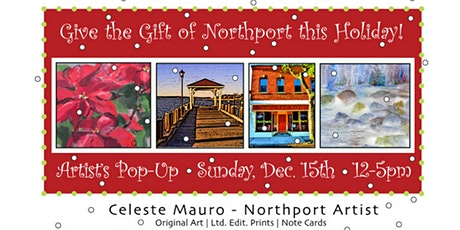 Celeste Mauro Art Pop Up- Sun. 12/15 tickets