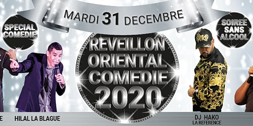 REVEILLON 2020 ORIENTAL LYON au CRYSTAL RECEPTION