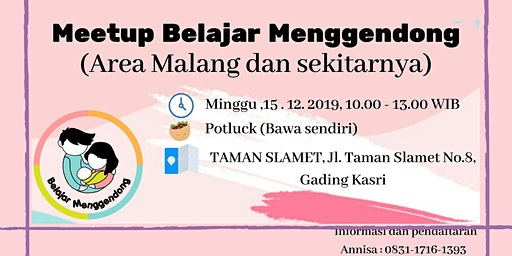 Meet Up Belajar Menggendong Area Malang V.0.1