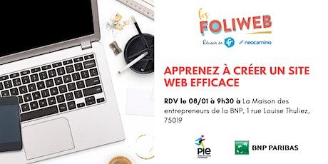 [Paris] Apprenez à créer un site web efficace billets