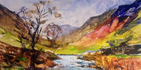 Developing Skill in effective landscape paintings tickets