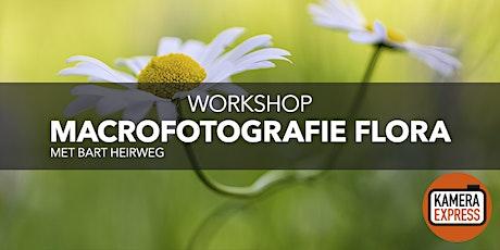 Macrofotografie Flora met Bart Heirweg tickets