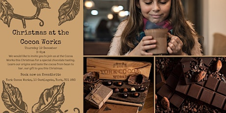 Christmas at the Cocoa Works tickets