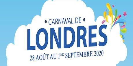 Carnaval de Londres 2020 tickets