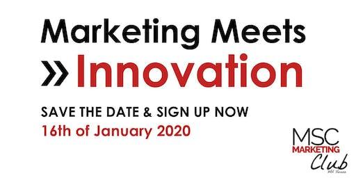 Marketing Meets Innovation