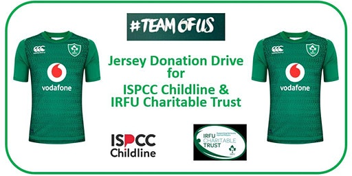 Rugby Jersey Donation Drive