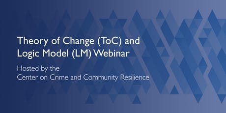 Theory of Change and Logic Model Development Webinar tickets