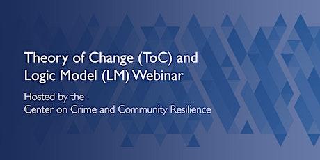 Theory of Change and Logic Model Development Webinar tickets