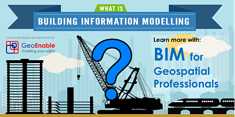 BIM for Geospatial Professionals tickets