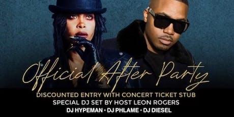 Hiphop Meets Afrobeats; Erykah Badu & Nas concert afterparty   tickets