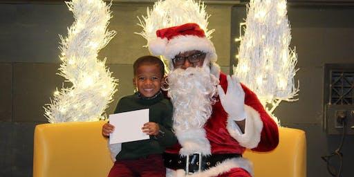 Cincinnati Black Santa