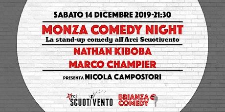 Monza Comedy Night - Nathan Kiboba e Marco Champier a Monza biglietti