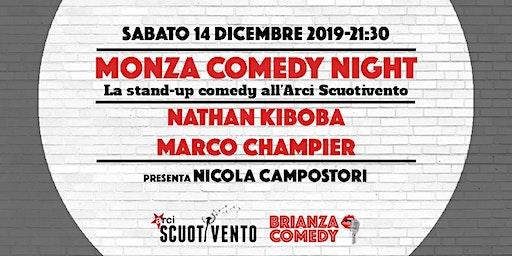Monza Comedy Night - Nathan Kiboba e Marco Champier a Monza