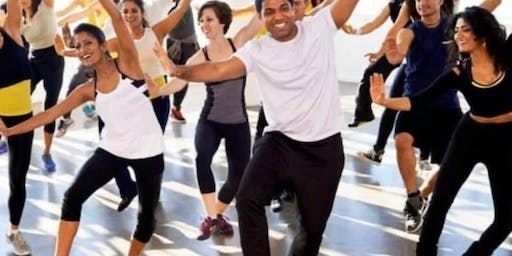 Bollywood Workout Streamed Live to your Home (canceled)