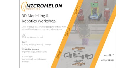 3D Modelling and Robotics Challenge tickets