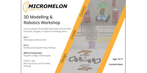 3D Modelling and Robotics Challenge