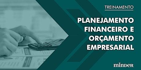 Planejamento financeiro e orçamento empresarial ingressos
