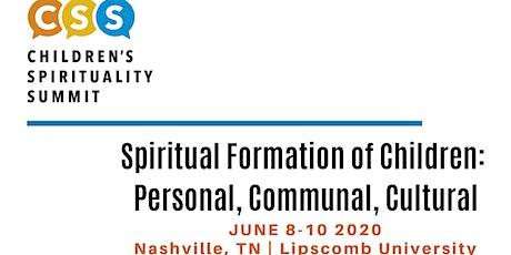 Children's Spirituality Summit 2020 tickets