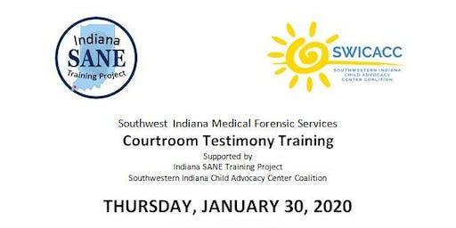 Forensic Nurse Courtroom Testimony Training
