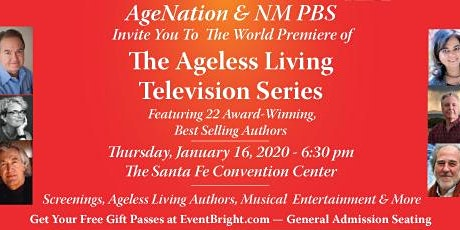 The Ageless Living Television Series World Premier tickets