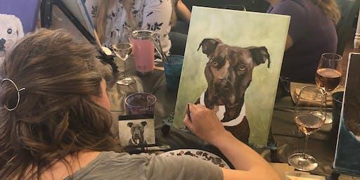 Paint Your Pet Class at Methven Family Vineyards
